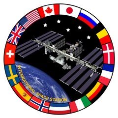 International Space Station patch image